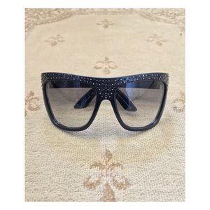 Jimmy Choo Jerry Strass Sunglasses